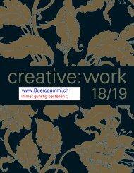 Kreativ Katalog 2018- 2019 für Schule, Kindergarten & Zuhause von www.buerogummi.ch