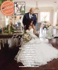 Real Weddings Magazine - Summer/Fall 2018 - Heaven Sent-A Decor Inspiration Story {The Digital Layout}