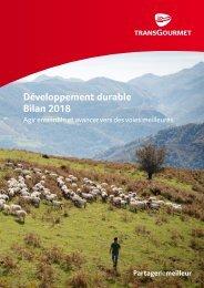 Livret Développement Durable Transgourmet 2018