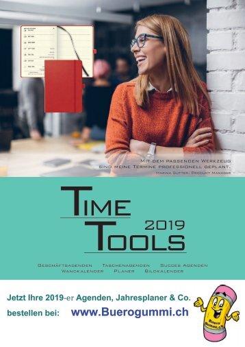 Agenda 2019, Kalender, Planer - Jahresplaner etc. von www.Buerogummi.ch