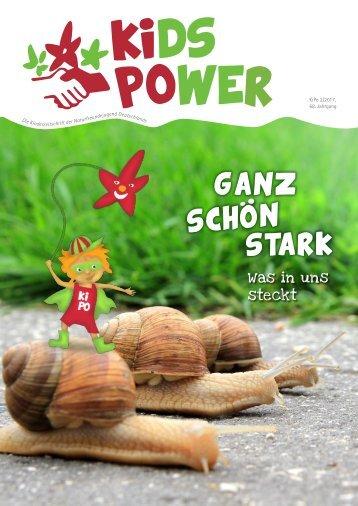 KidsPower 2/2017: Ganz schön stark