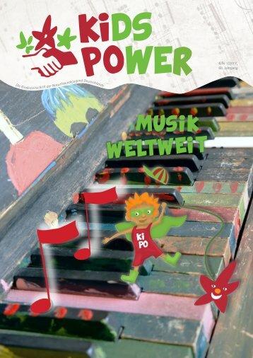 KidsPower 01/2017: Musik weltweit