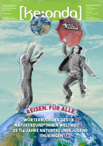[ke:onda] 1/2017 - Reisen. Für alle