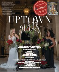 Real Weddings Magazine - Summer/Fall 2018 - Uptown Girls-Cover Model Finalist Photo Shoot {The Digital Layout}