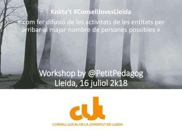 Assessorament KNKTA'T CLJLleida jun18