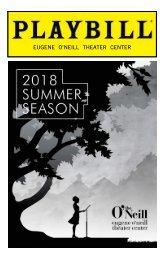 The Eugene O'Neill Theater Center's 2018 Summer Season Playbill