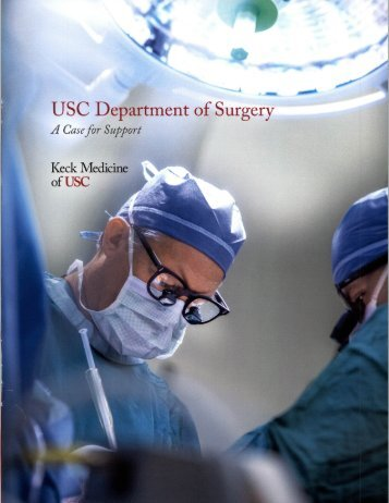 USC Department of Surgery - A Case for Support (2)