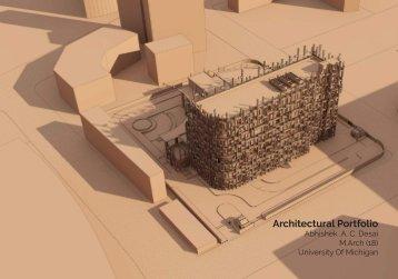 Abhishek Desai Architectural Portfolio