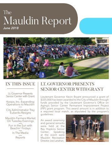 June 2018 Mauldin Report