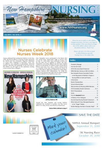 New Hampshire Nursing News - July 2018