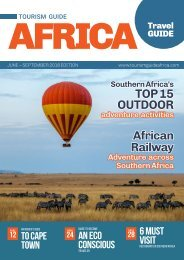 Tourism Guide Africa June - September 2018 Edition