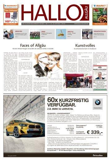 Hallo-Allgäu Memmingen vom Samstag, 16.Juni