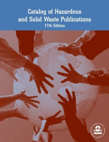 Catalog of Hazardous and Solid Waste Publications