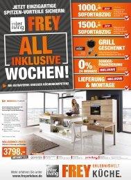 Interliving FREY Küchenwelt - Die All Inklusive Wochen gehen weiter!