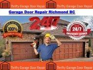 Garage Door Repair Richmond BC
