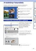 Sony DSC-TX9 - DSC-TX9 Consignes d'utilisation Hongrois - Page 2