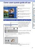 Sony DSC-TX9 - DSC-TX9 Consignes d'utilisation Italien - Page 2