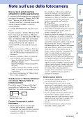 Sony DSC-TX9 - DSC-TX9 Consignes d'utilisation Italien - Page 3