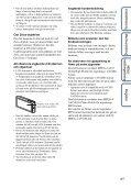 Sony DSC-TX9 - DSC-TX9 Consignes d'utilisation Suédois - Page 4