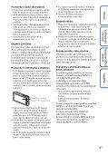 Sony DSC-TX9 - DSC-TX9 Consignes d'utilisation Tchèque - Page 4