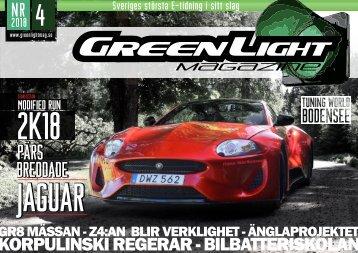 GreenLight Magazine #4 - 2018