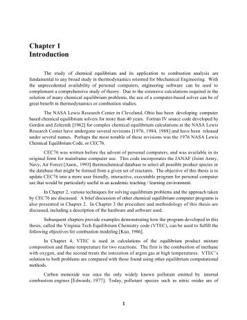 Chapter 1 Introduction - Virginia Tech