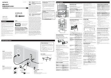 Sony CMT-CPZ3 - CMT-CPZ3 Mode d'emploi Croate