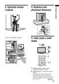 Sony KDL-40U2520 - KDL-40U2520 Consignes d'utilisation Tchèque - Page 5