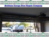 Brisbane Garage Door Repair Company