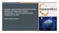 Global Navigation Satellite System Market