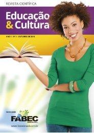 REVISTA CIENTÍFICA  - Educação & Cultura - ANO 2 – Nº 2 – OUTUBRO DE 2016