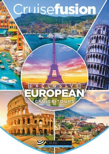 Exclusive European Cruise-Tours