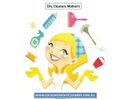 Dry Cleaners Malvern