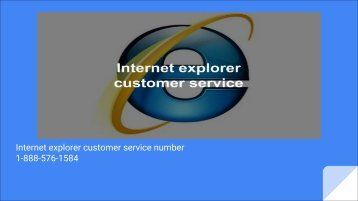 internet explorer customer support | technical | phone number