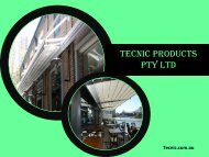 Opening Fabric Roofs by Tecnic