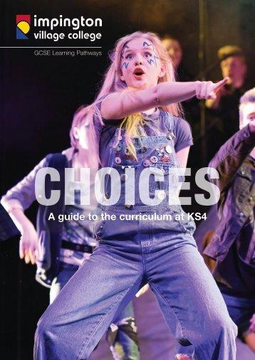 IVC GCSE Choices 2018