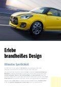 SWIFT Sport Modellprospekt - Page 2