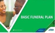 Basic funeral Plan