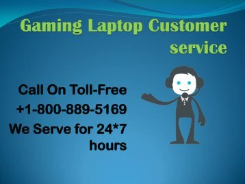 Gaming Laptop Customer  service