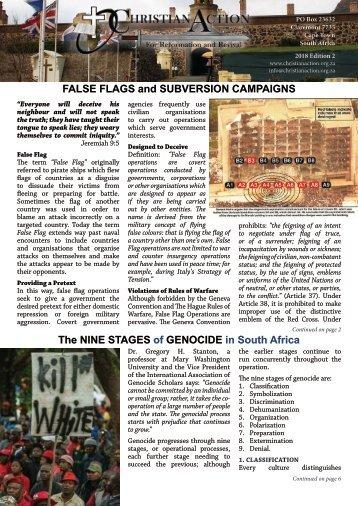 Christian Action Magazine - Edition 2 of 2018
