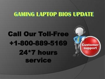 Gaming Laptop bios Update