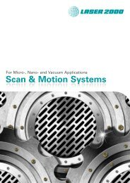 Scan and Motion Systems