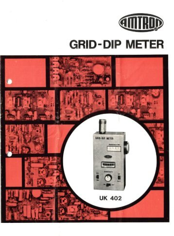 Amtron UK-402 Grid-dip meter - Italiano