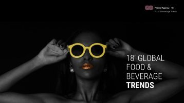2018 Global Food and Beverage Trends