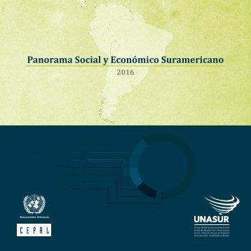 Panorama Social y Económico Suramericano 2016
