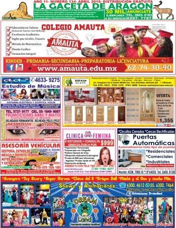 Gaceta de Aragon Abril 2018