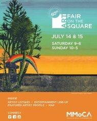 Art Fair on the Square 2018 program