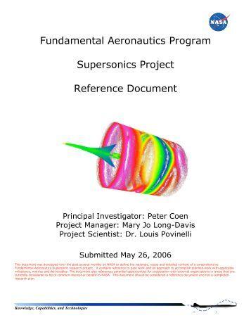 + Supersonics (.pdf) - NASA