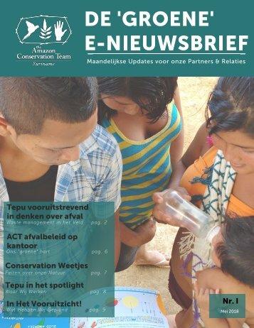 ACT-SUR E-Newsletter Mei 2018 editie