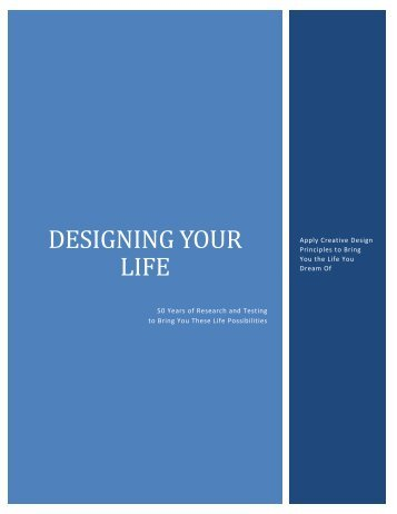 Designing Your Life By Annie Collyer